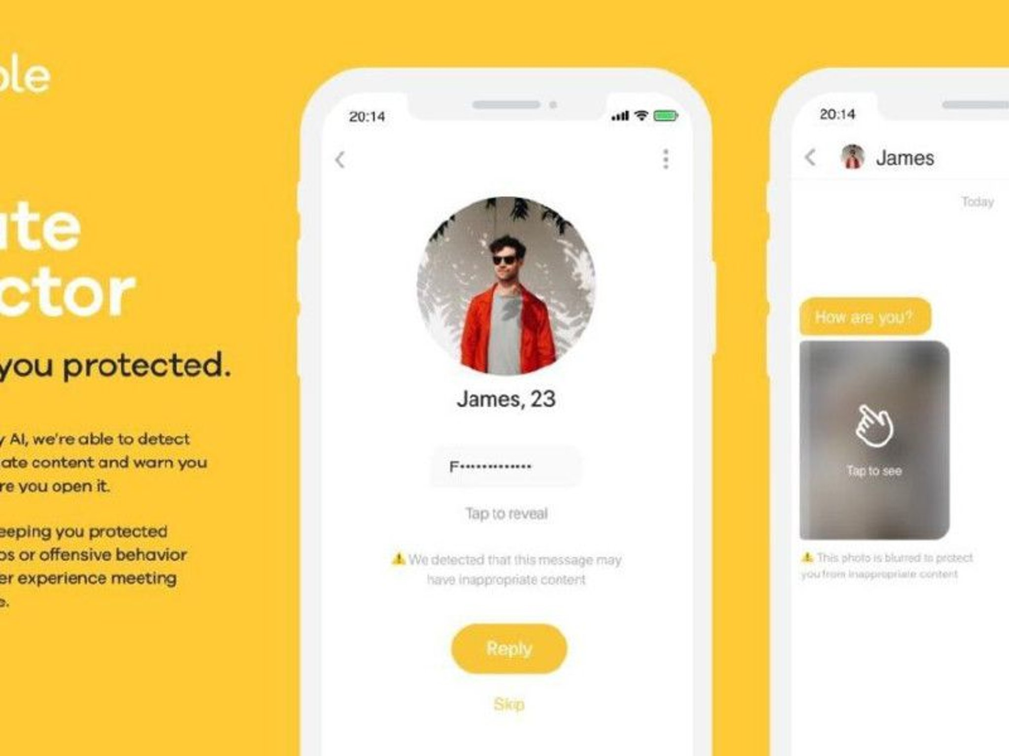 Artificial intelligence to help Bumble detect and hide