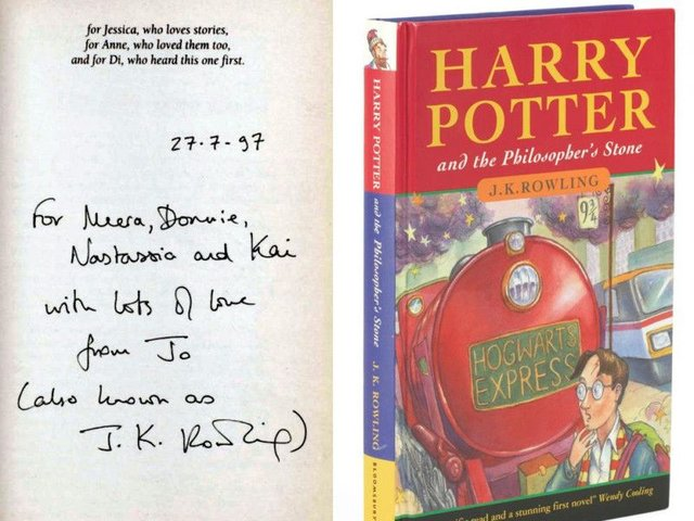 what year was the first harry potter book published