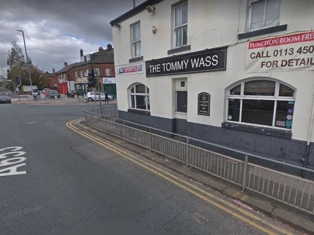 Video Serious Crash Outside Tommy Wass Pub In Leeds