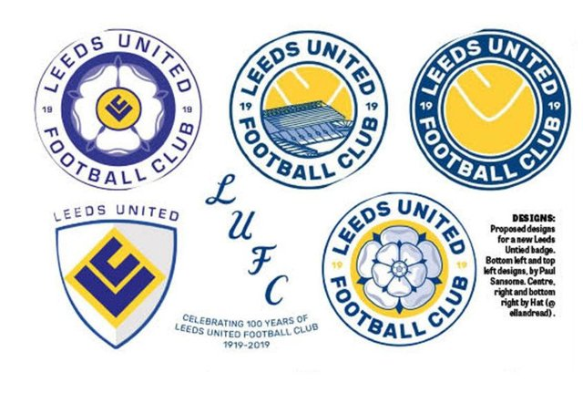 Do Your Crest Leeds United Fans Design Own Badges As Row Rumbles On Yorkshire Evening Post