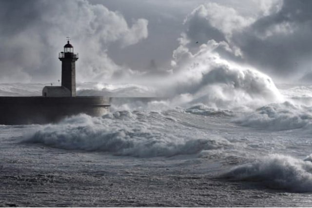 Storm Dennis is set to bring wet and windy weather to the UK this weekend, with a multitude of Met Office weather warnings for heavy rain and strong winds in place across the country (Photo: Shutterstock)