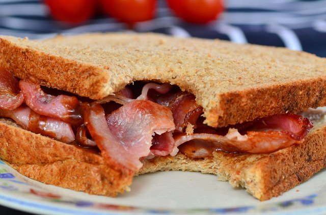 Eating a bacon or sausage butty in the morning or having one as a treat on a weekend is a normal occurrence in many households throughout the UK (Photo: Shutterstock)