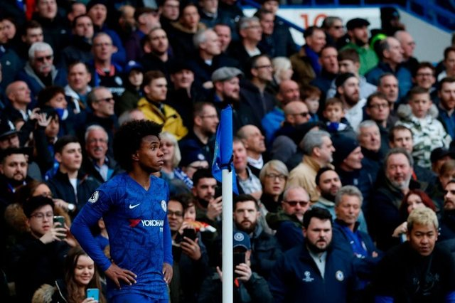Willian features in Fifa 20's TOTW 26 after a star performance against Everton (Getty Images)