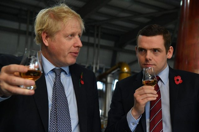 Douglas Ross has resigned from Boris Johnson's cabinet (Getty Images)
