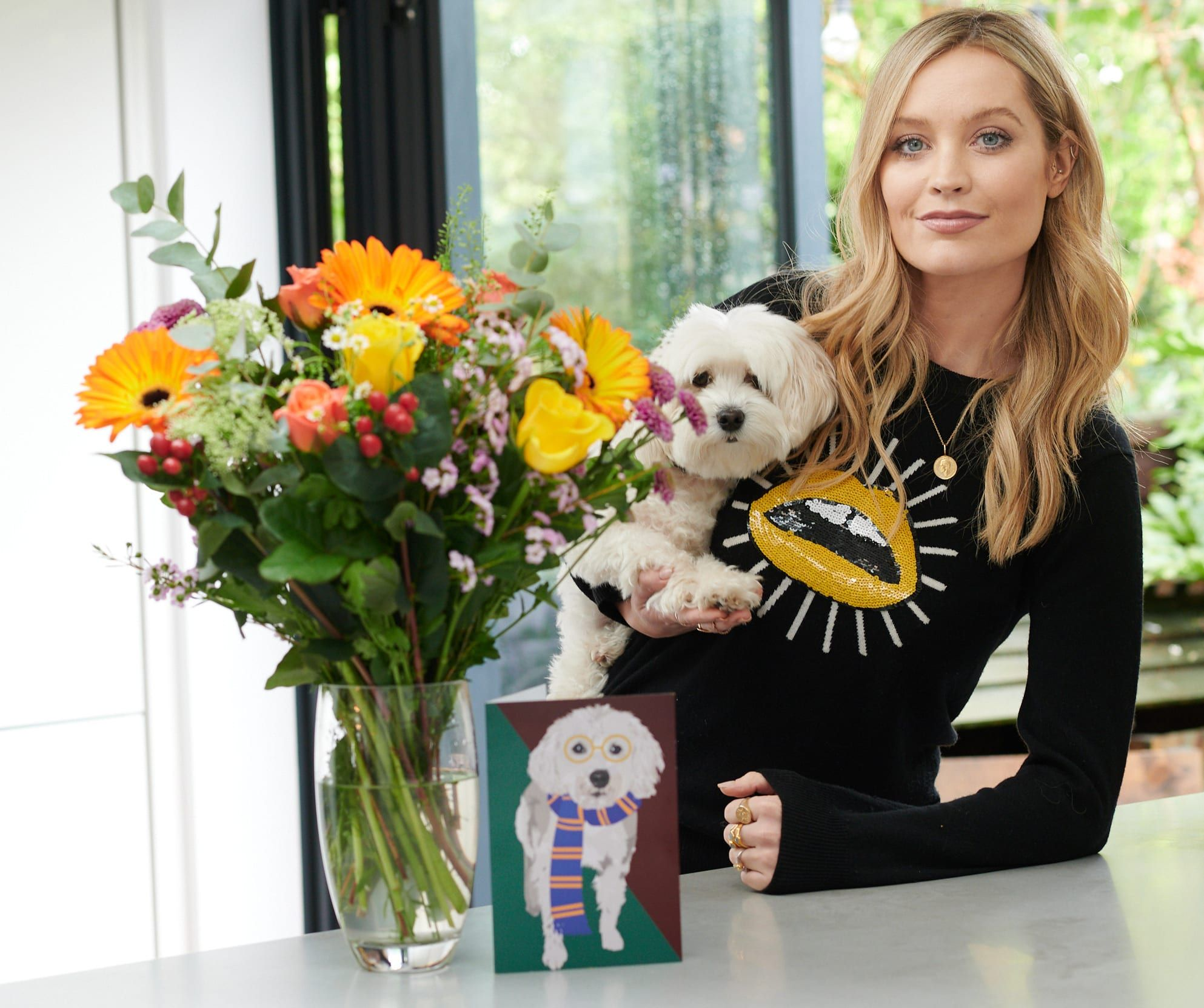 Laura Whitmore Collaborates with Moonpig to Create 'The Laura' Bouquet