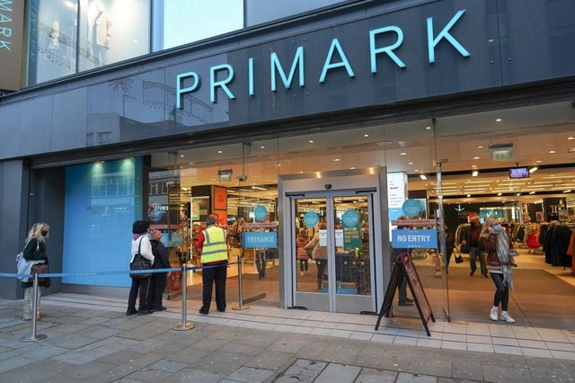Primark expects to reopen in England on 12 April (Photo: Getty Images)
