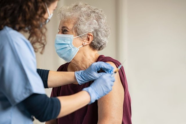Low levels of vaccine hesitancy were reported in adults over 80 (Photo: Shutterstock)