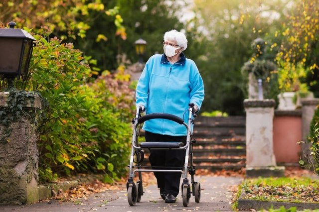 Care home residents are now able to leave for 'low risk' visits without having to isolate for 14 days on their return (Photo: Shutterstock)