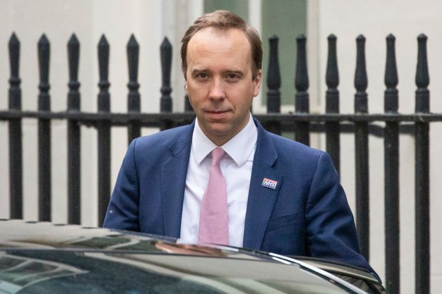 Health Secretary Matt Hancock has been accused of muddling the government's message on social distancing (Getty Images)