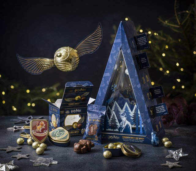 The Harry Potter themed goodies can be found in M&S stores nationwide (Photo: Shutterstock)