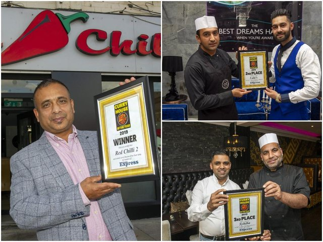Curry House Of The Year 2019 Tikka Look At Our Winners