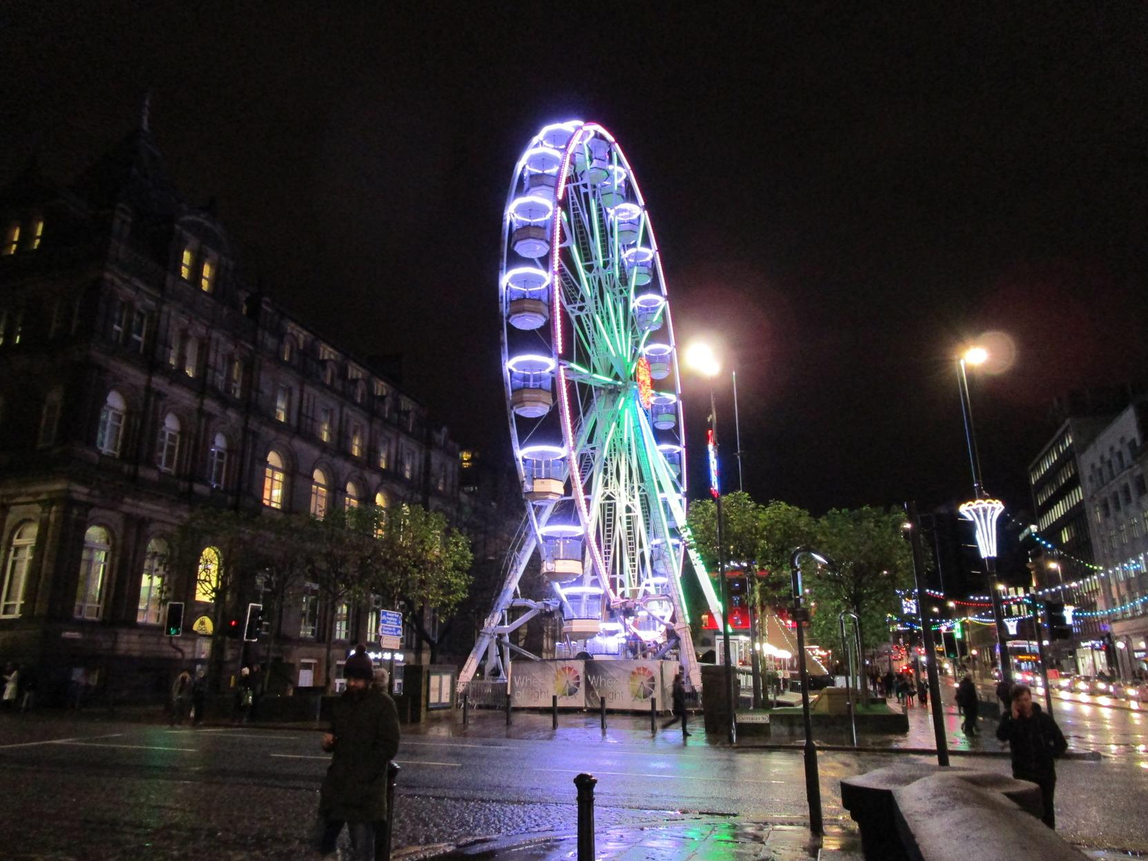 Leeds Wheel of Light back in city centre for Christmas: Here's everything you need to know