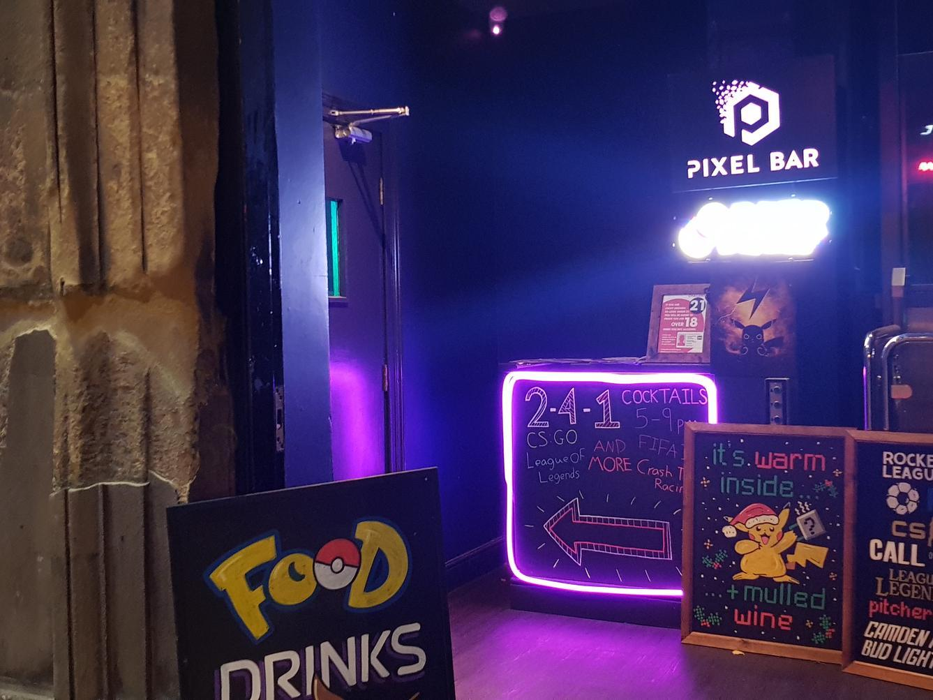 Pixel Bar Review - Leeds' first dedicated gaming bar is a hit with gamers and drinkers alike
