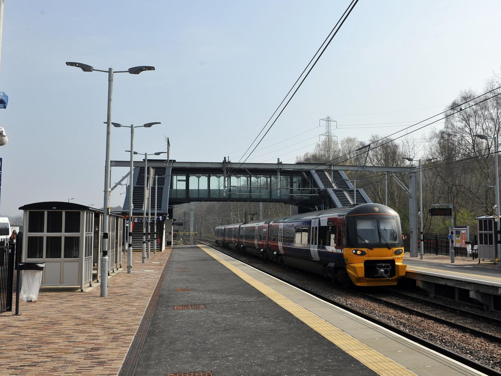 Police confirm man has died after being struck by a train in Leeds