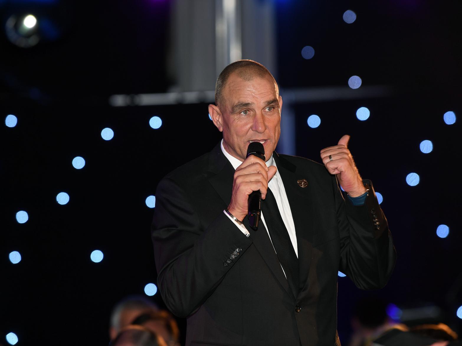 Leeds United legend Vinnie Jones says X Factor is 'what he needed' since wife died