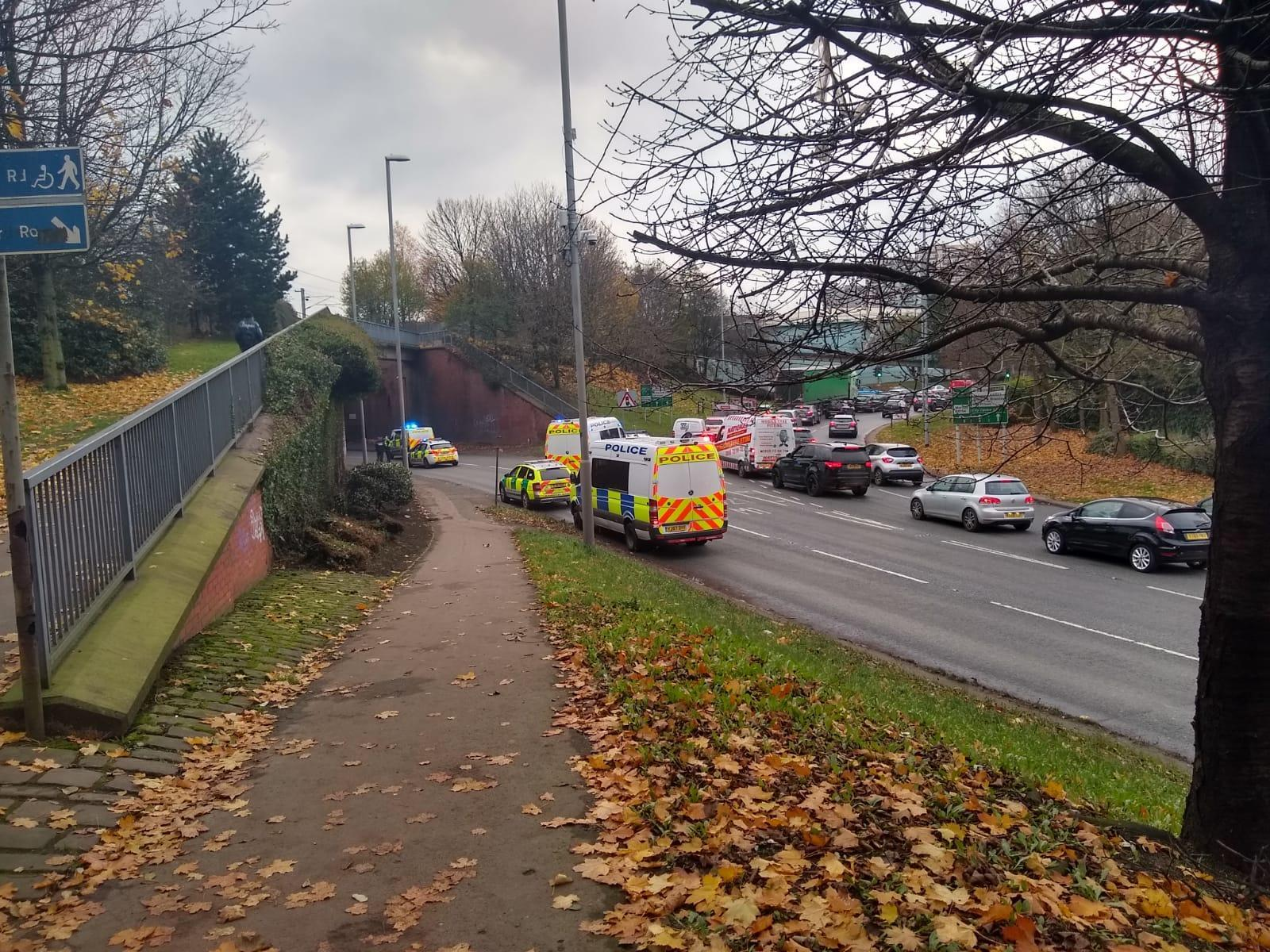 Live updates as Armley Gyratory in Leeds closed due to ongoing incident