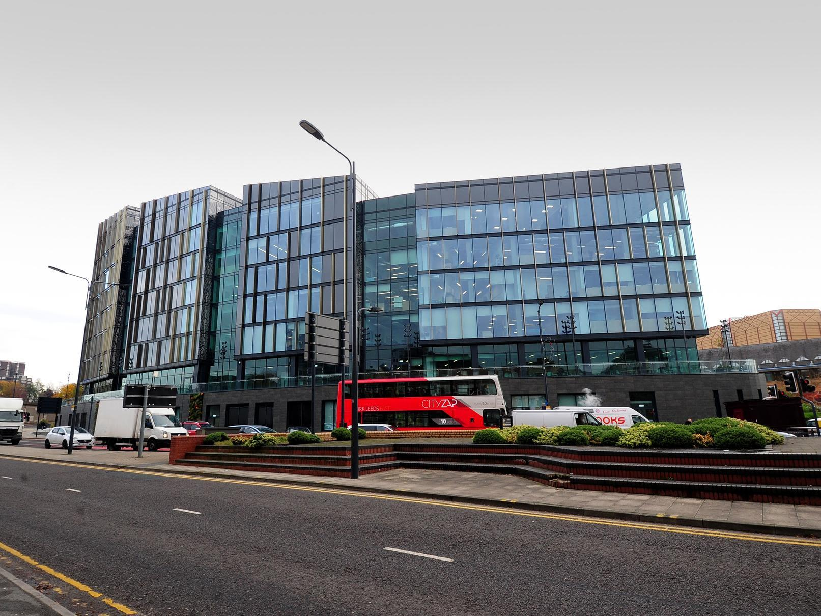 Masked men steal laptops and music equipment from Leeds City College campus at Quarry Hill