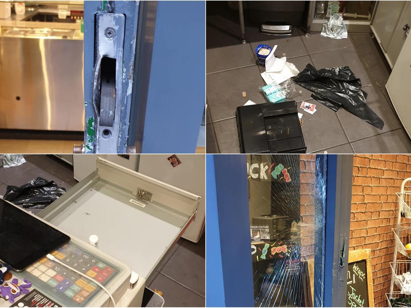 Independent Leeds sandwich shop ransacked in burglary leaving owners 'heartbroken'