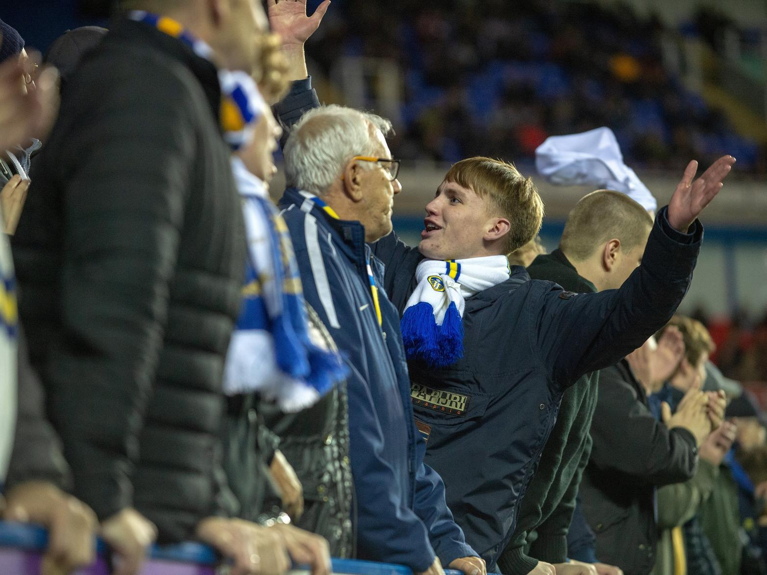 Reading 0 Leeds United 1 - Can you spot yourself in our fans gallery?
