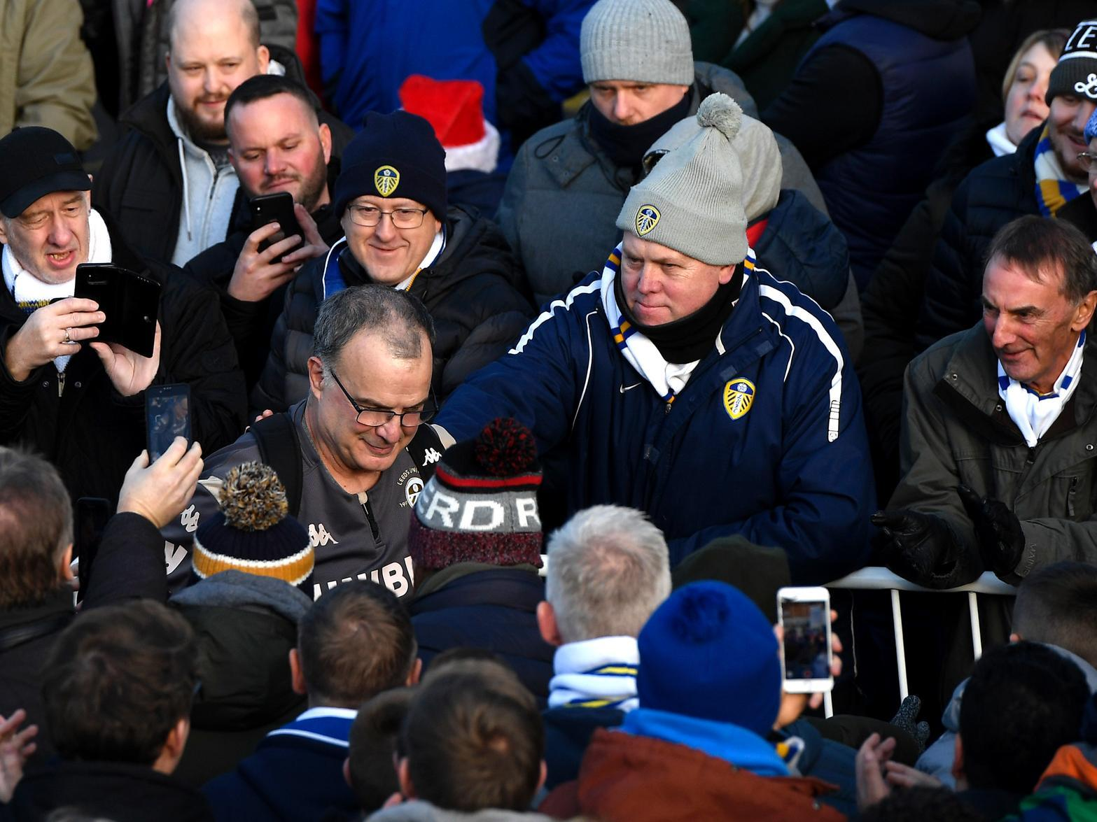 Marcelo Bielsa closing in on piece of Leeds United history but he won't be celebrating 'partial achievement'