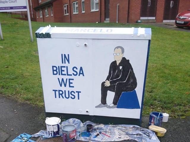Image result for in bielsa we trust