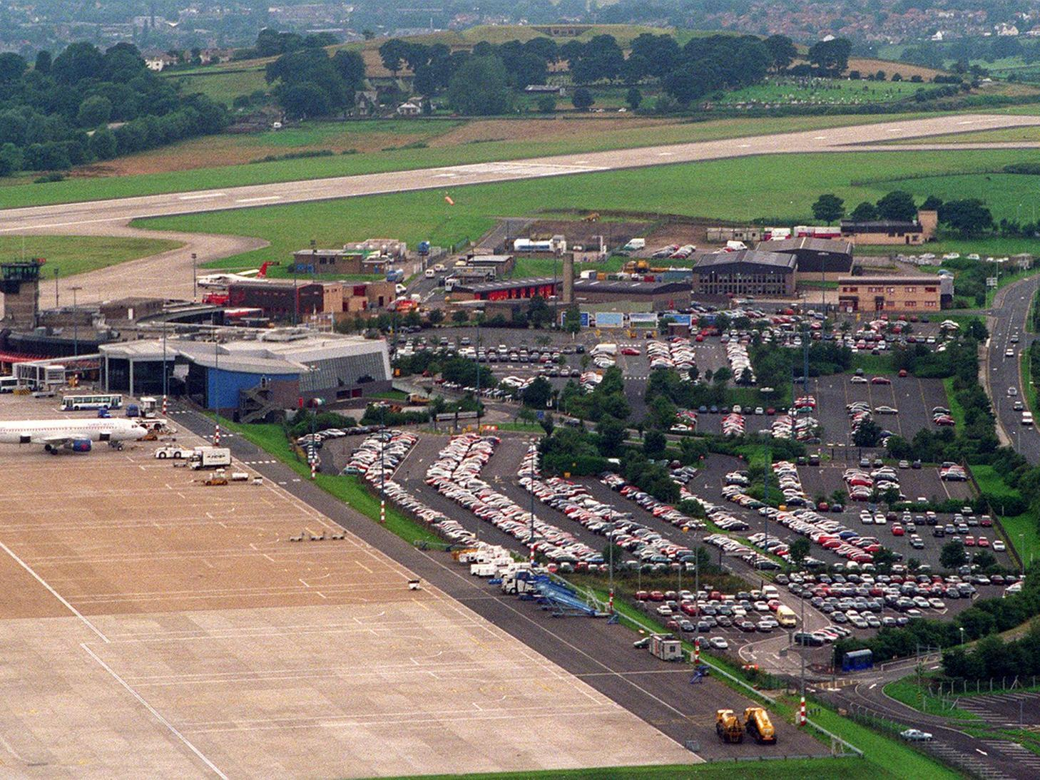 23 unseen photos of Leeds Bradford Airport during the 1990s