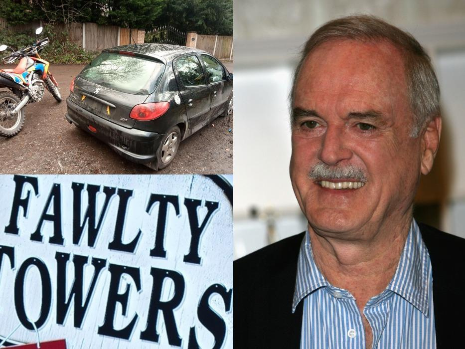 'Basil Fawlty' moment lands petulant driver in trouble with the law