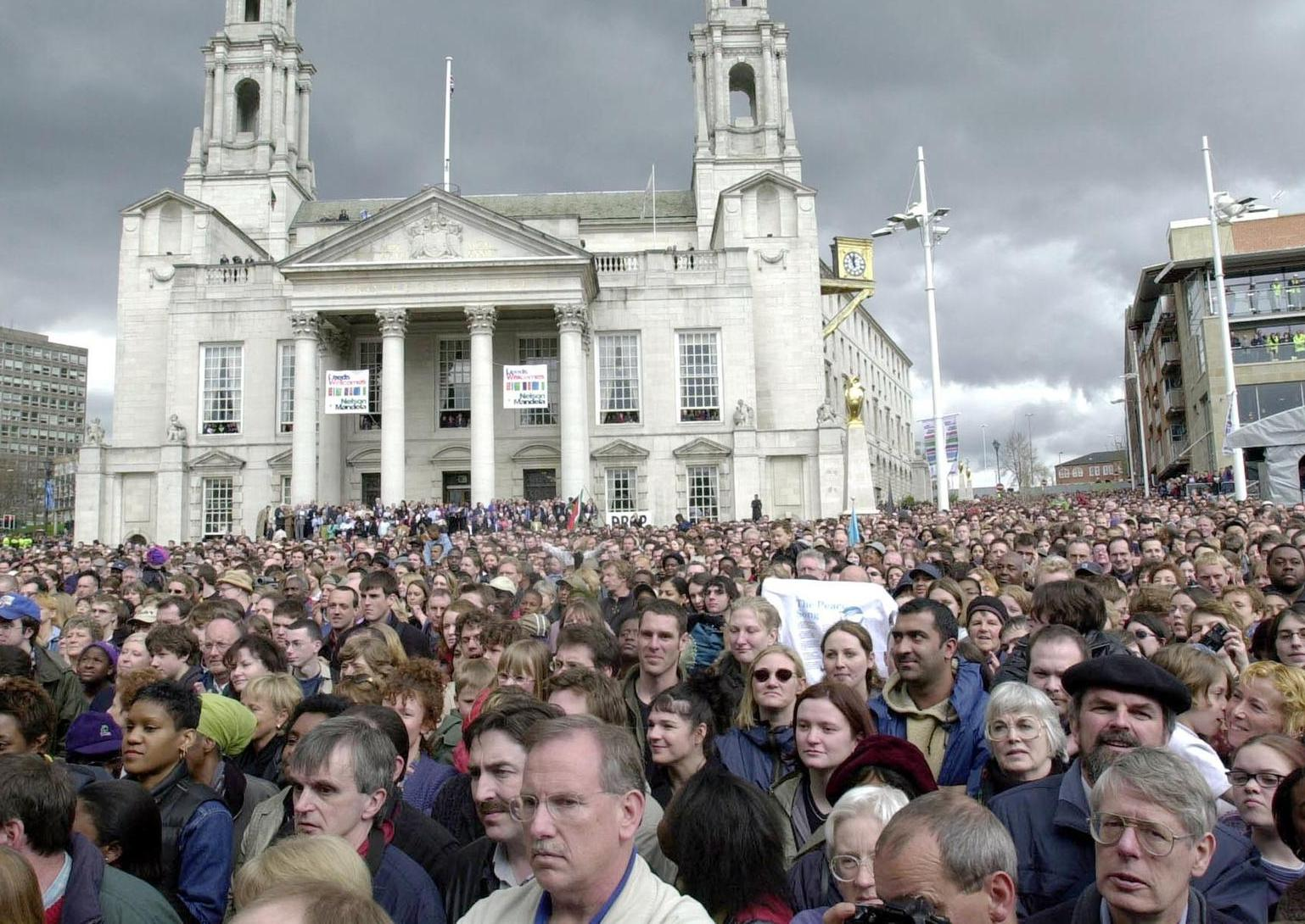 51 photos to take you back to Leeds in 2001
