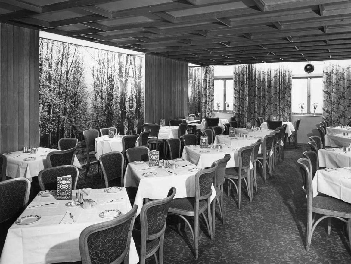 Changing Leeds - When you could take afternoon tea at Bettys in the city centre