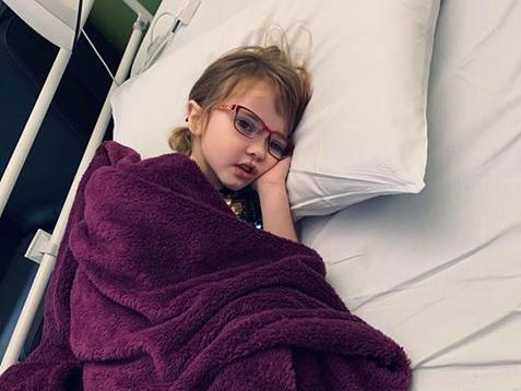 Heartbreaking appeal for girl with cystic fibrosis spending seventh birthday in LGI