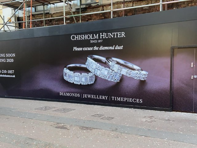 Chisholm Hunter has taken over the former Thorntons store in Leeds city centre.
