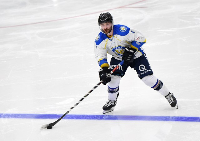CONFIDENT: Leeds Chiefs player-coach, Sam Zajac is backing his team to derail Telford Tigers' NIHL National title bid. Picture: Jonathan Gawthorpe.