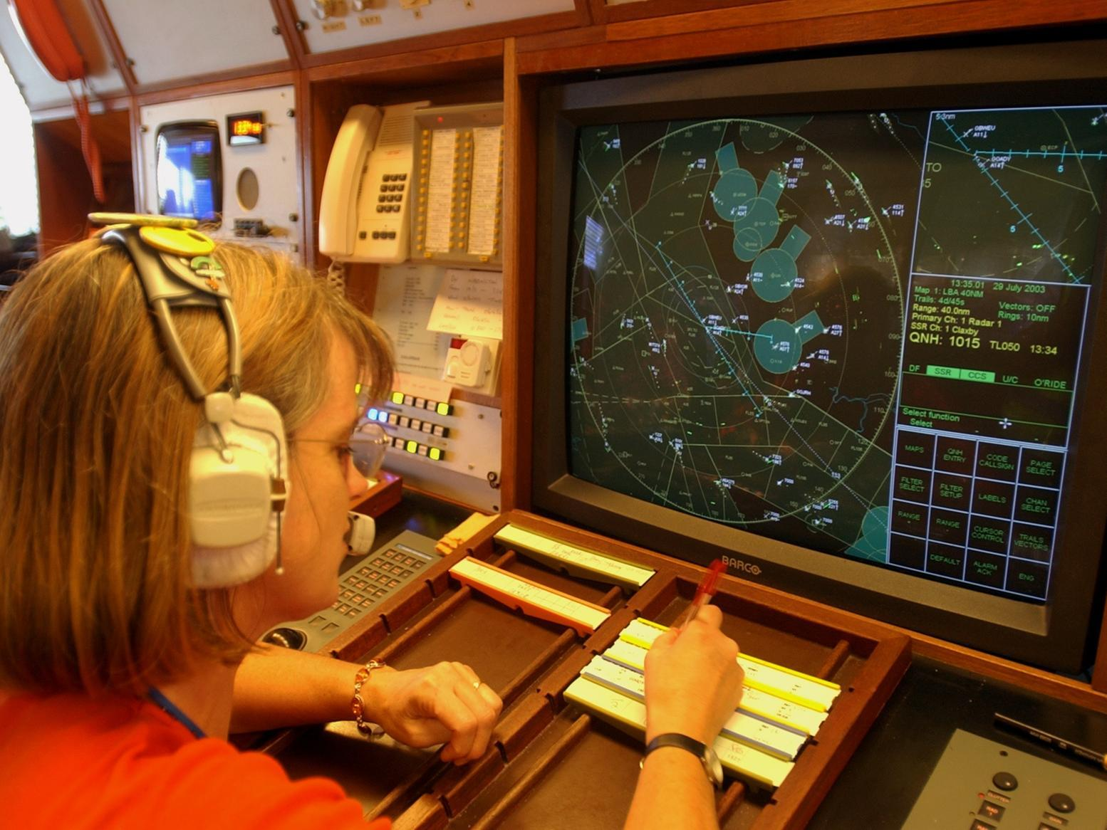 Go behind the scenes at Leeds Bradford Airport in the early 2000s