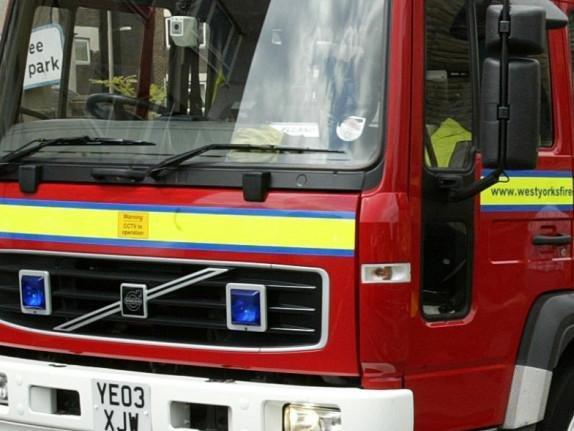 Elderly woman taken to hospital after chip pan fire in West Yorkshire