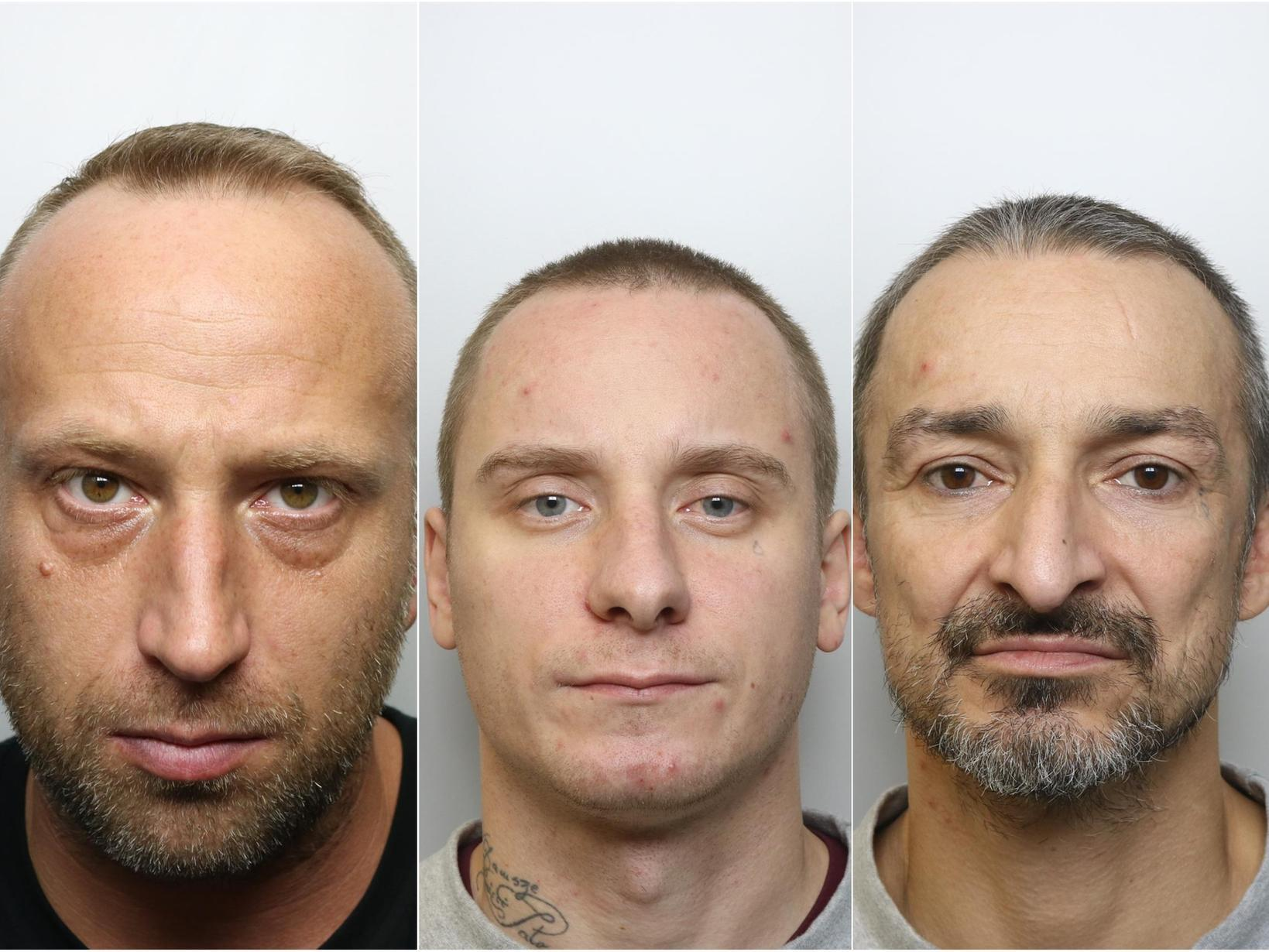 Three men jailed for more than 40 years for firing gun on West Yorkshire street