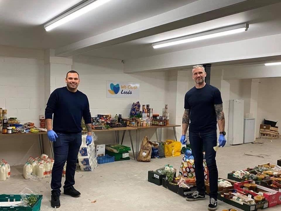 Coronavirus: Leeds Rhinos legend Jamie Peacock joins volunteers helping city's most vulnerable