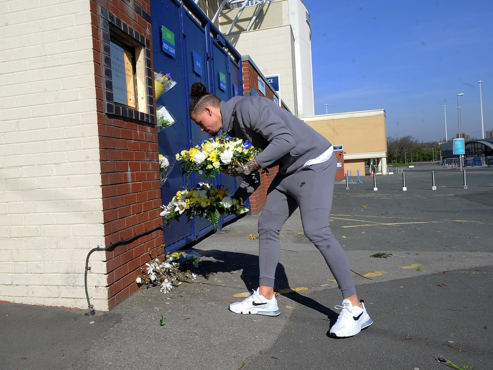 Kalvin Phillips makes emotional Elland Road visit as Leeds United pay respects twenty years after Istanbul tragedy