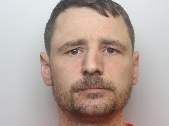 Garath Tansey was jailed for two years for a burglary at St Hospital in Leeds shortly before lockdown.