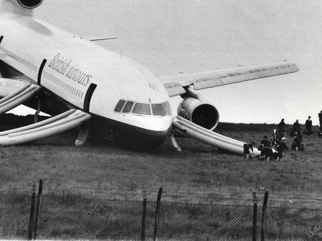 Do you remember the British Airtours plane accident? PIC: YPN