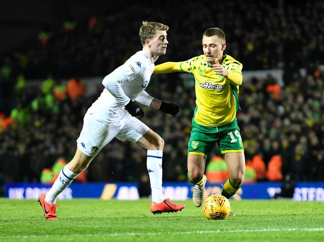 OLD FOES - Norwich City could not accept relegation, having played their games, while Leeds United are promoted without playing, says Stuart Webber. Pic: Getty