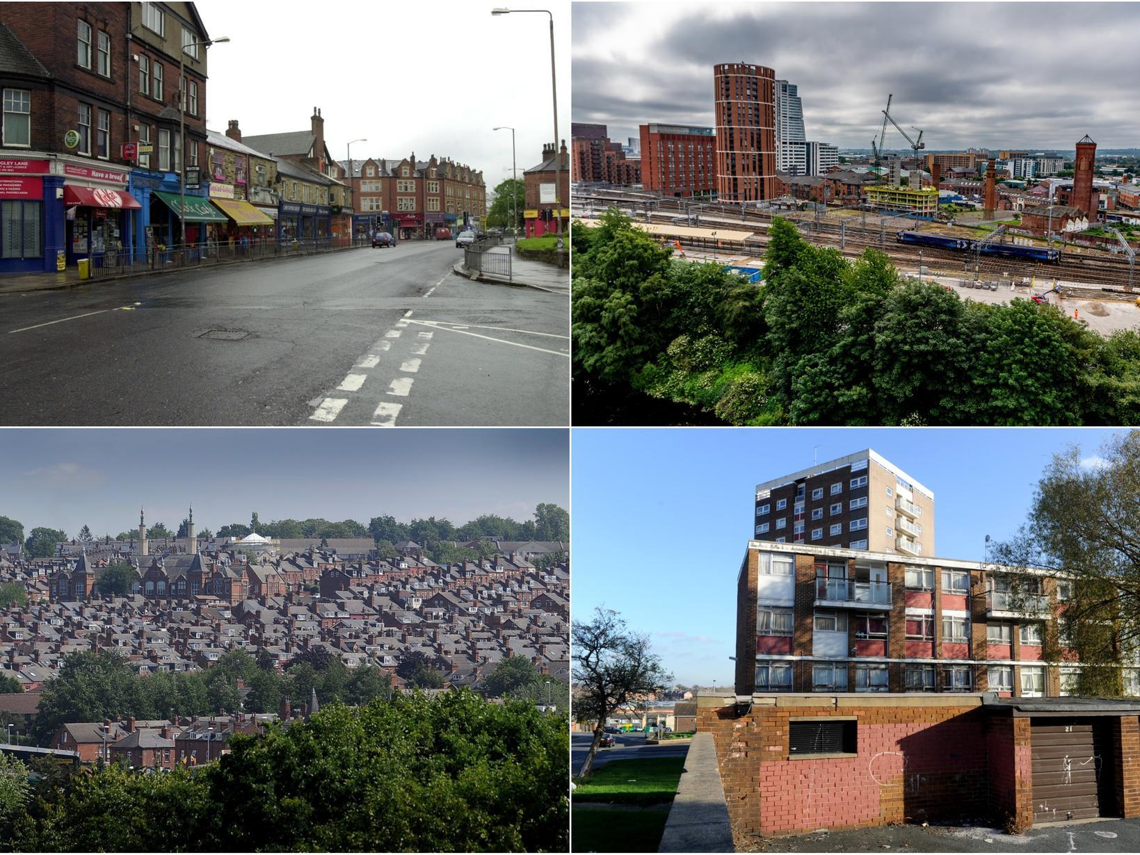 The nine Leeds areas where the population has exploded over five years