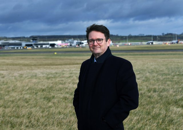 Hywel Rees, CEO of Leeds Bradford Airport. Picture Jonathan Gawthorpe.