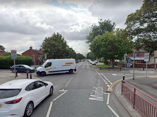 Teenage motorcyclist taken to hospital after crash which closed road in south Leeds