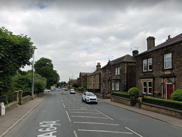 Police arrest aggressive drunk man 'attacking passing cars' on Leeds road