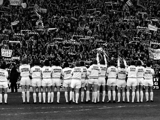 Enjoy these iconic Leeds United photos from down the decades. PICS: Varley Picture Agency
