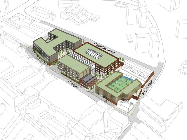 Leeds City College, part of Luminate Education Group, has submitted outline plans to deliver new education and sports facilities, as part of a proposed new college campus near the city centre on Mabgate, Leeds.