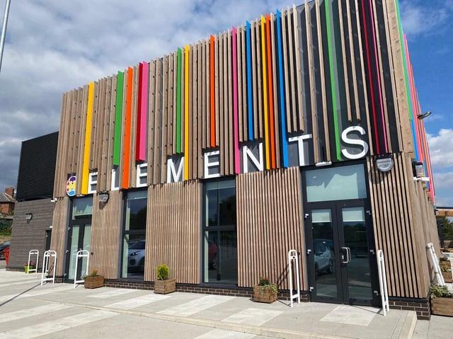 Elements Primary School's vibrant new building