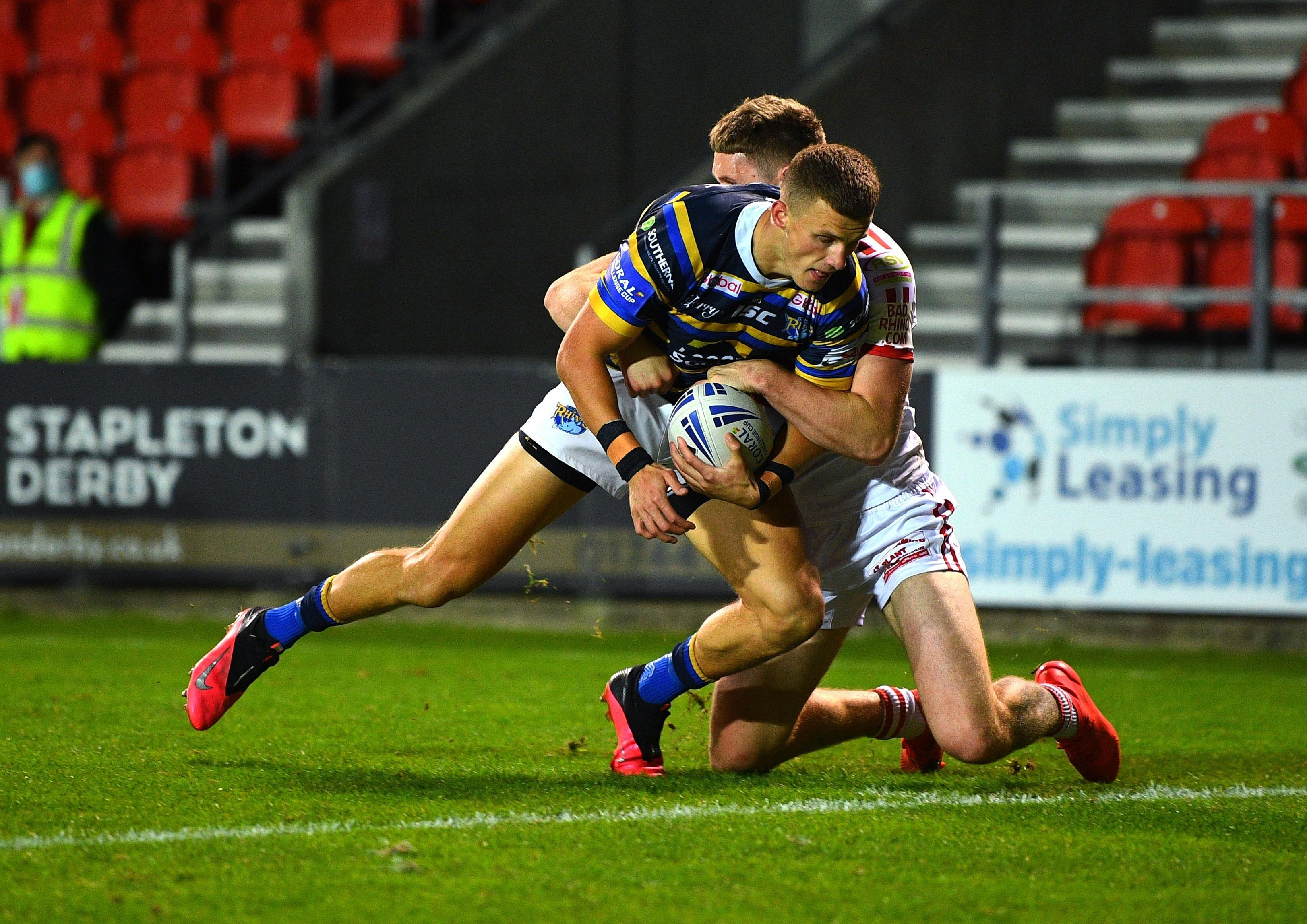 Leeds Rhinos 48 - Hull KR 18: Rampant Rhinos score eight tries as they power into Challenge Cup semi-finals