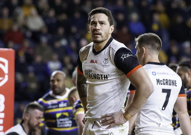 Marquee Toronto Wolfpack signing Sonny Bill Williams. Picture: Allan McKenzie/SWpix.com.