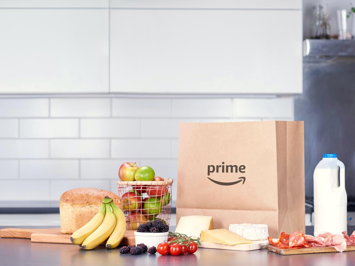You can now order your weekly grocery shop on Amazon in West Yorkshire - this is how